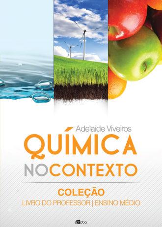 Capa do livro Química no Contexto – Livro do Professor